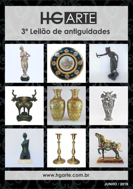 HG ARTE - 3º LEILÃO DE ARTE E ANTIGUIDADES