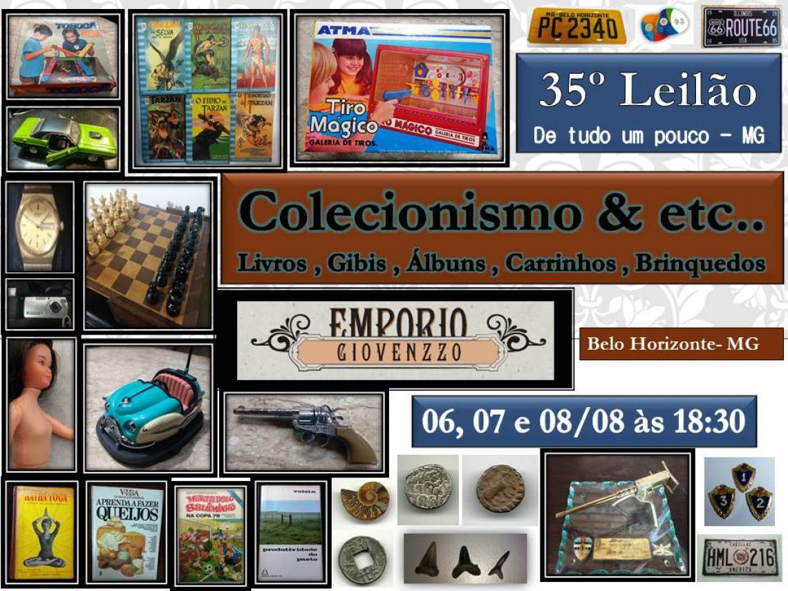 35º LEILÃO - COLECIONISMO  & ETC