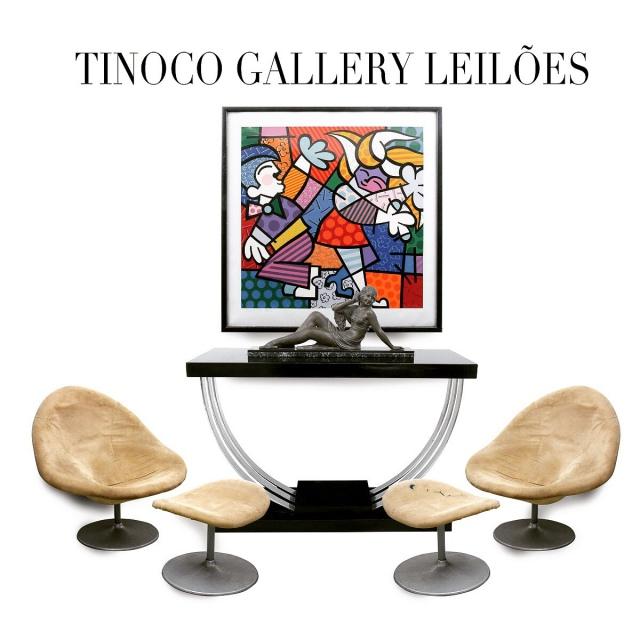 2º LEILÃO TINOCO GALLERY - ARTE, ANTIGUIDADES, DESIGN, RELÓGIOS E NUMISMÁTICA.