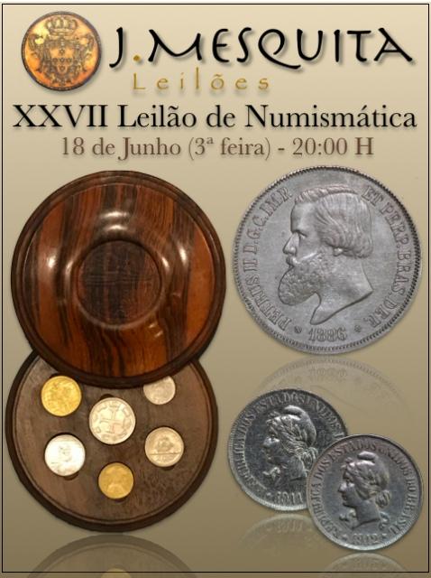 XXVII Leilão J.Mesquita -  Especial de Numismática