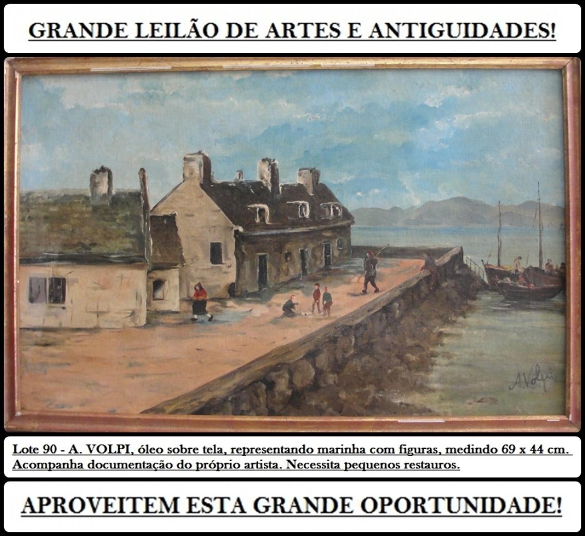 GRANDE LEILÃO DE ARTES E ANTIGUIDADES!
