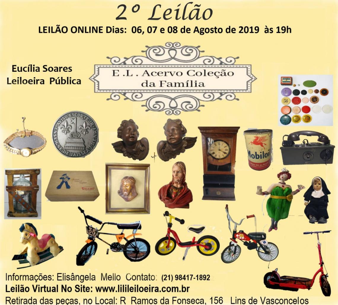 2 º Leilão E. L. Acervo Coleção da Família 12083