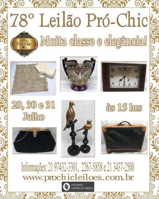 78º  LEILÃO PRO CHIC-Muita classe e elegancia !