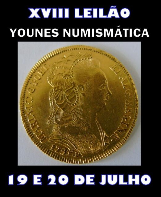 XVIII LEILÃO YOUNES NUMISMÁTICA