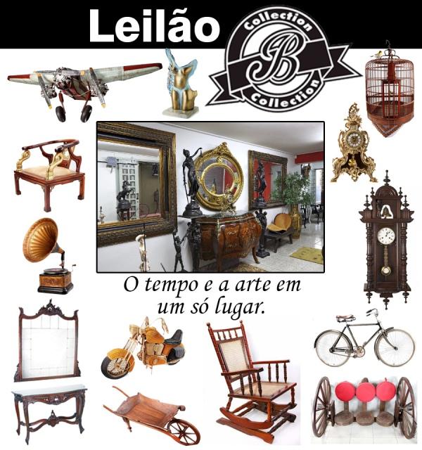 GRANDE LEILÃO B COLLECTION - ARTIGOS DECORATIVOS E COLECIONÁVEIS