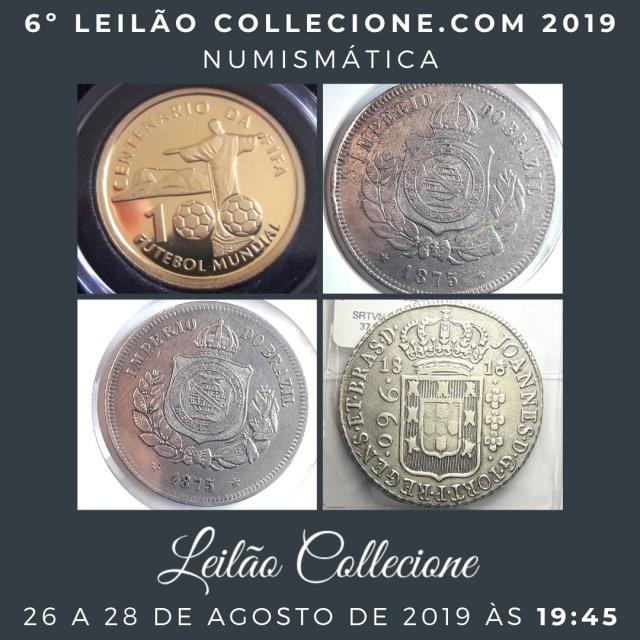 6º LEILÃO COLLECIONE.COM 2019