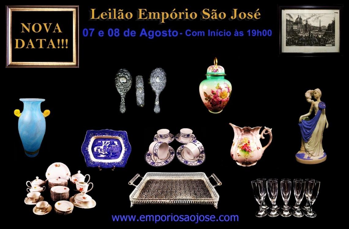 LEILÃO DE ARTE E ANTIGUIDADES - São José