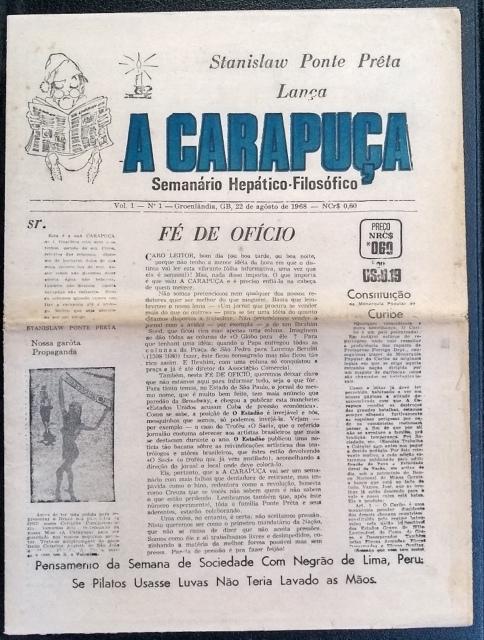 Leilão - A década 60 no Brasil: Livros, Jornais e Revistas
