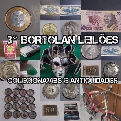 3º LEILÃO BORTOLAN DE COLECIONÁVEIS E ANTIGUIDADES