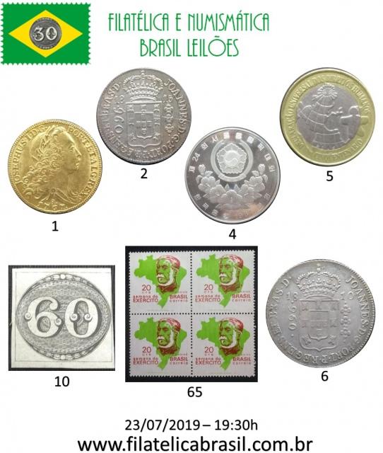 XXVIII LEILÃO DE COLECIONISMO FILATÉLICA E NUMISMÁTICA