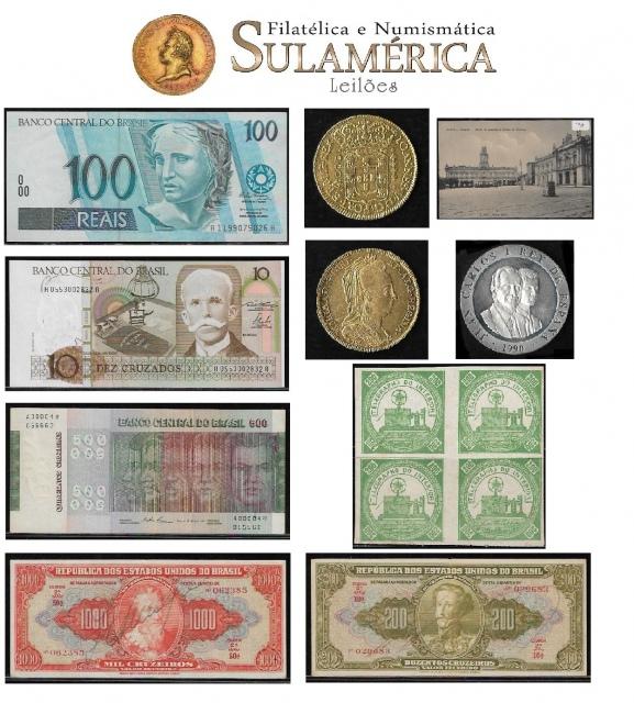 40º LEILÃO SULAMÉRICA DE NUMISMÁTICA E FILATELIA