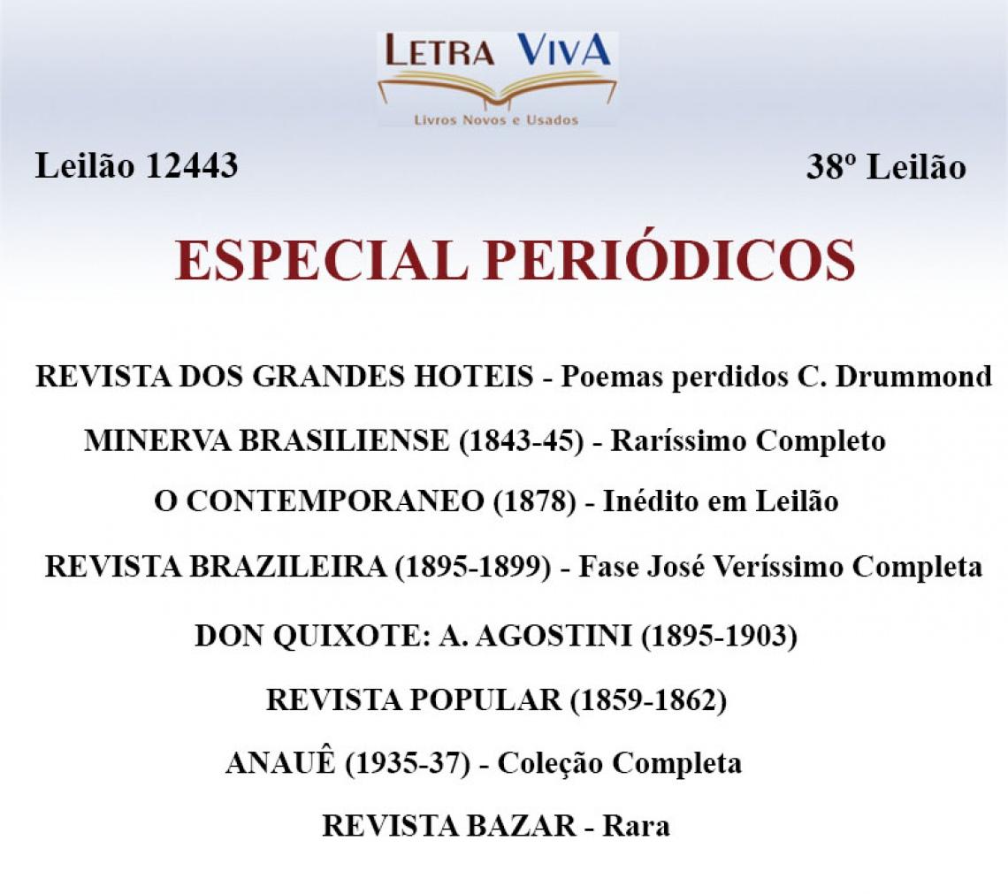 38º LEILÃO LETRA VIVA - PERIÓDICOS RAROS