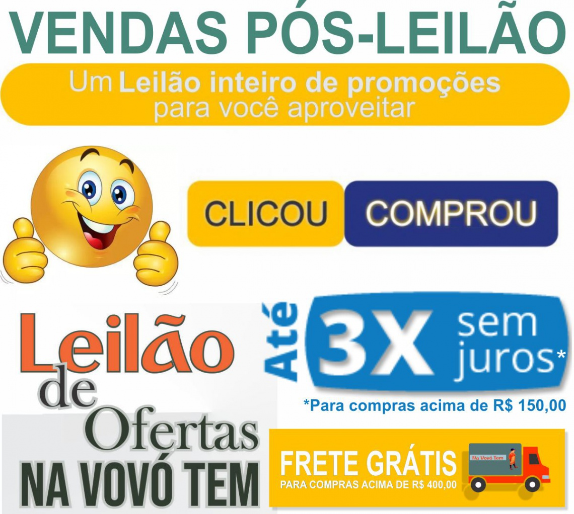 VENDAS PÓS LEILÃO 12450 - CLICOU -> COMPROU