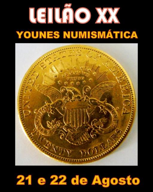 XX LEILÃO YOUNES NUMISMÁTICA