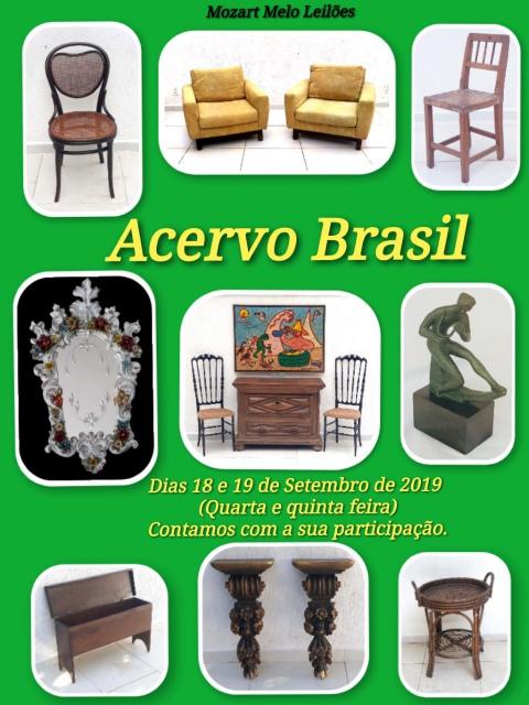 LEILÃO ACERVO BRASIL - Setembro 2019