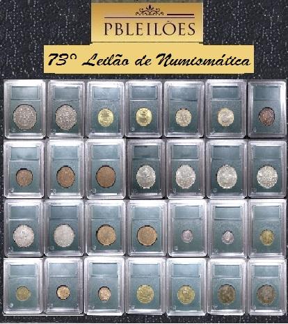 73º Leilão de Numismática PBleilões