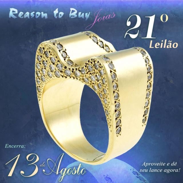 LEILÃO 12496 - 21º Leilão de Joias da Reason to Buy Joalheria