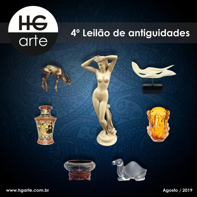 HG ARTE - 4º LEILÃO DE ARTE E ANTIGUIDADES