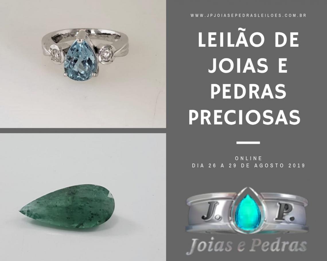 13º Leilão Frete Grátis - JOIAS E PEDRAS PRECIOSAS - EXCLUSIVIDADE