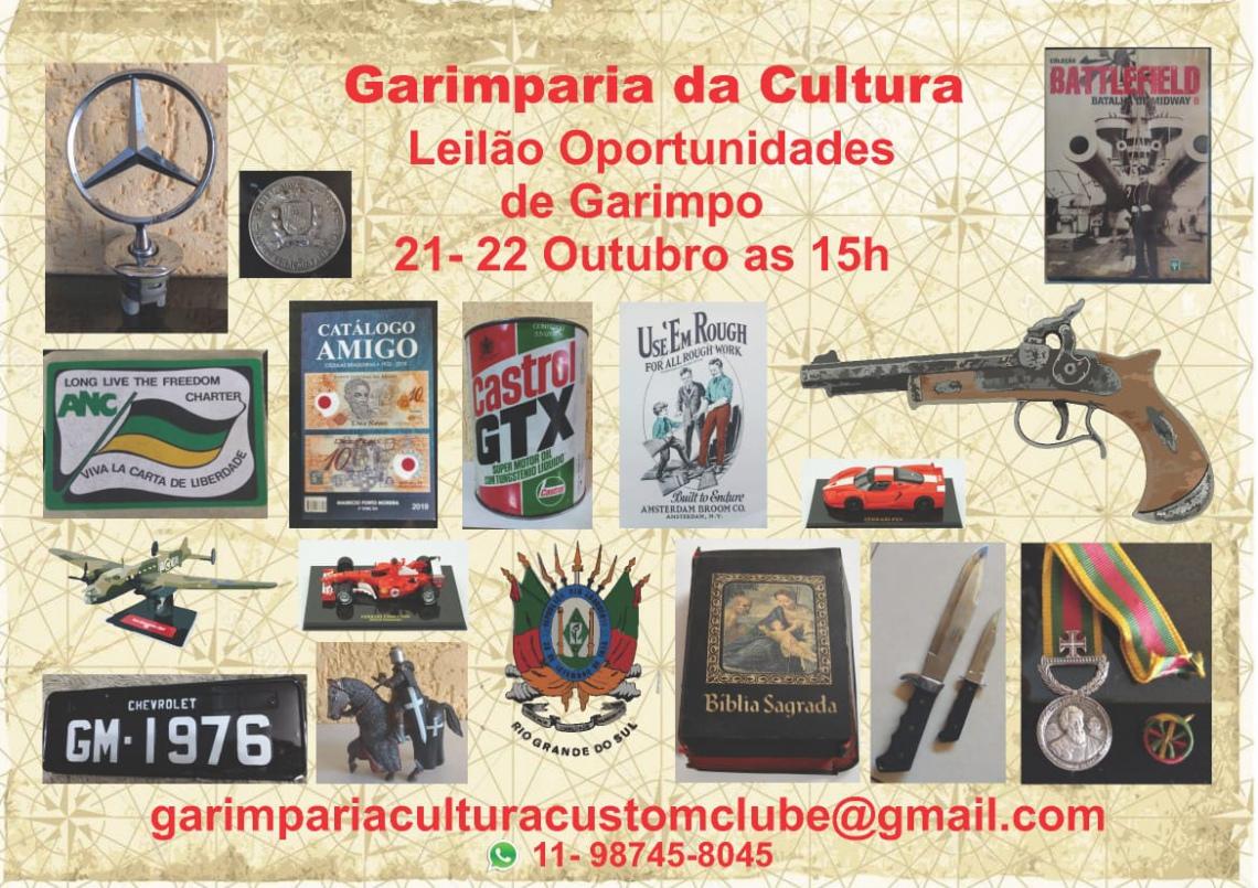 LEILÃO OPORTUNIDADES DE GARIMPO