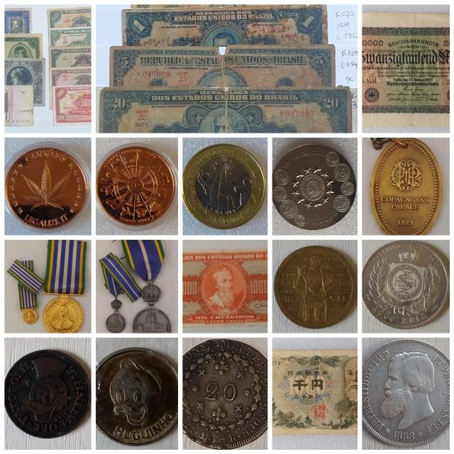 12º Leilão Numismarti - Cedulas, Moedas, Medalhas, Comenda, Token´s etc..