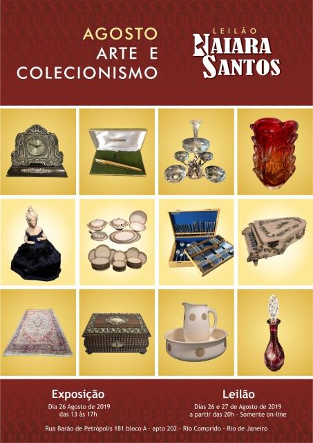 LEILÃO NAIARA SANTOS - ARTE E COLECIONISMO