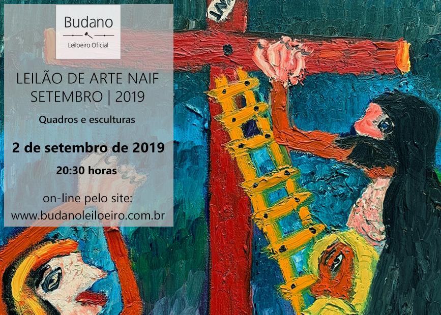 LEILÃO DE ARTE NAIF - ARTE BRASILEIRA E SUL-AMERICANA