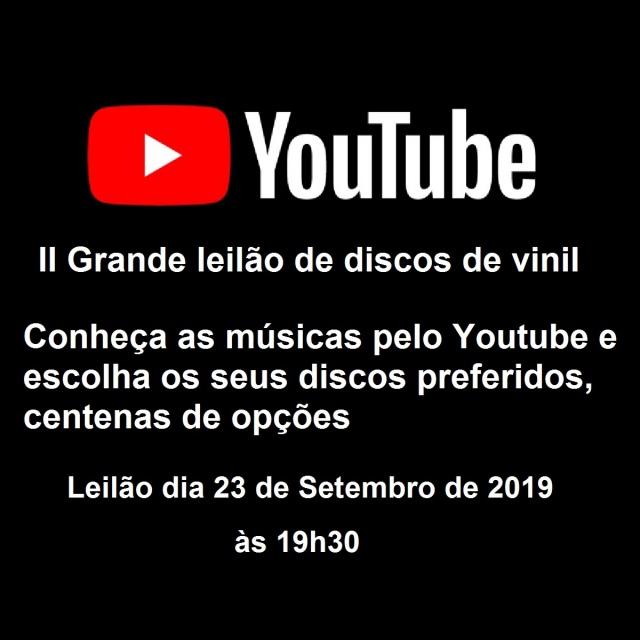 II GRANDE LEILÃO DE DISCOS DE VINIL