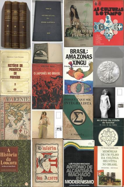 32º Leilão Outono Azul - Livros e Postais