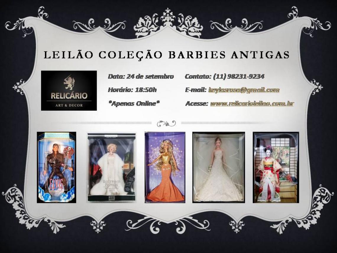 COLEÇÃO BARBIES ANTIGAS