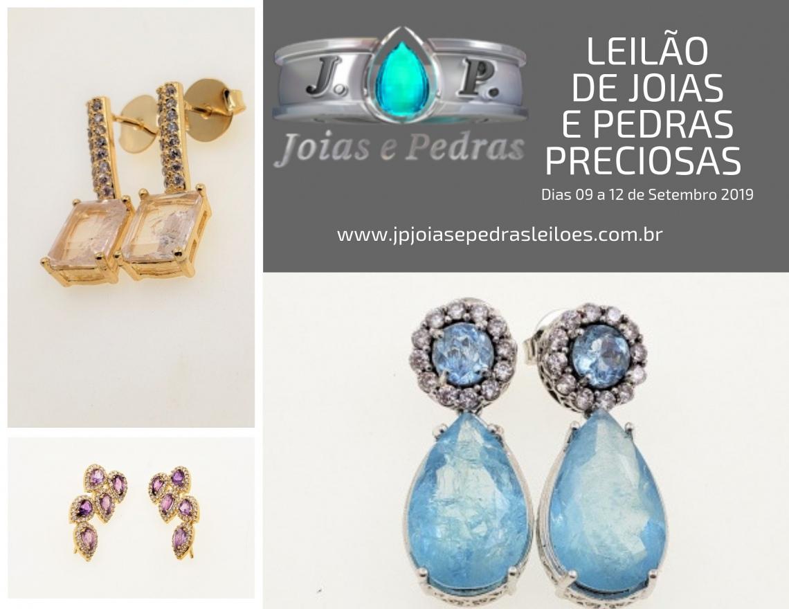 14º Leilão Frete Grátis - JOIAS E PEDRAS PRECIOSAS - LEIA AS INSTRUÇÕES