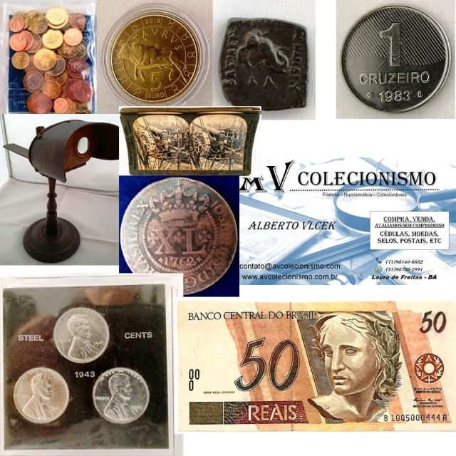 21º Leilão de Filatelia - Numismática -  AV COLECIONISMO