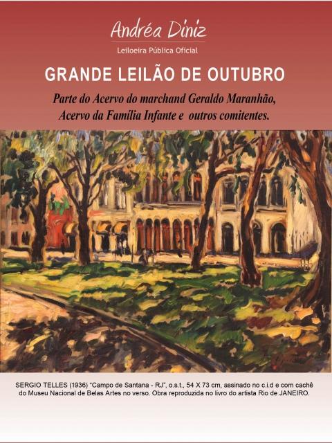 Leilão Acervo do marchand Geraldo Maranhão e família Infante.