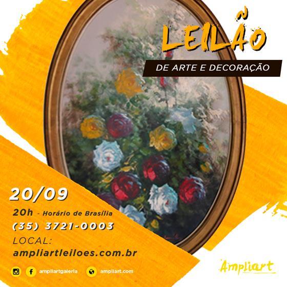 LEILÃO DE ARTE E DECORAÇÃO
