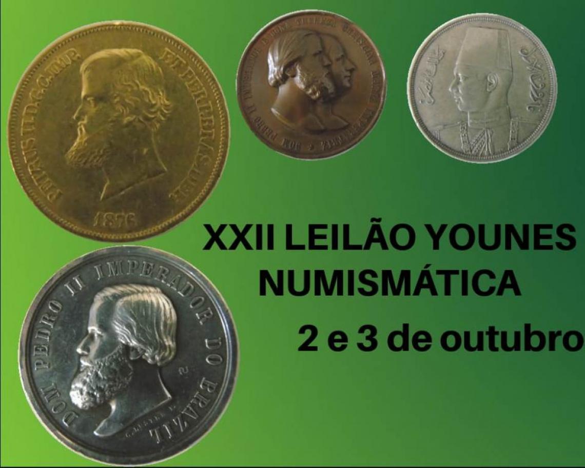 XXII LEILÃO YOUNES NUMISMÁTICA