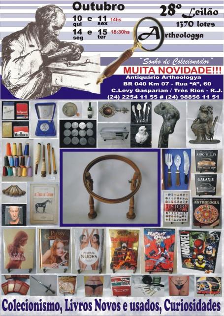 28º LEILÃO ARTHEOLOGYA - OUTUBRO 2019