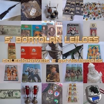 5 LEILÃO BORTOLAN DE COLECIONÁVEIS E ANTIGUIDADES