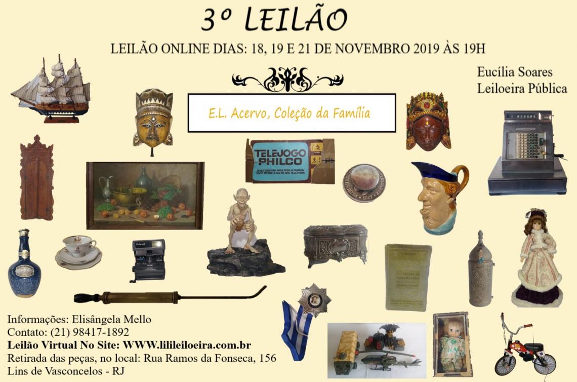 3 º Leilão E. L. Acervo Coleção da Família 12842