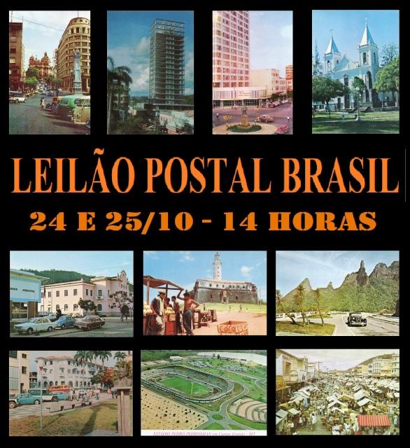 LEILÃO BRASIL POSTAL