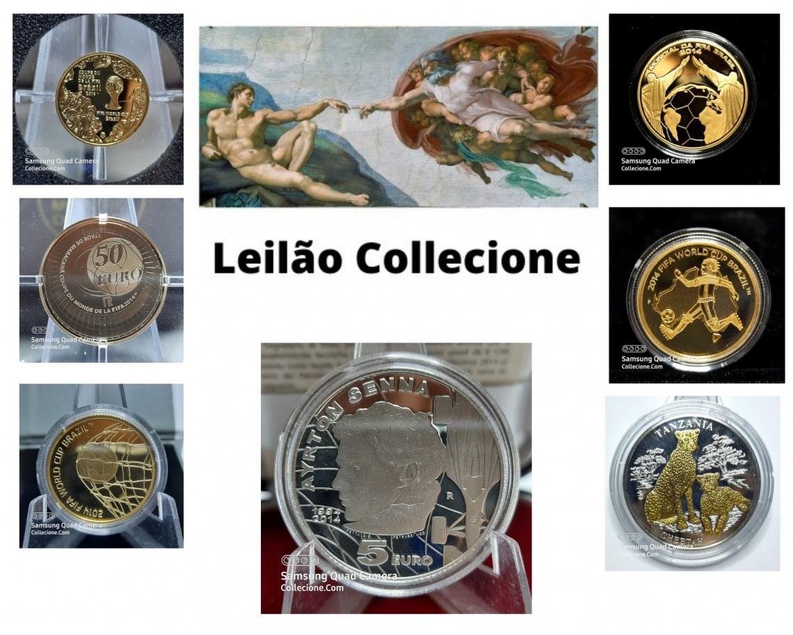 XXXII Leilão Collecione - Copas do Mundo Numismática e Filatelia