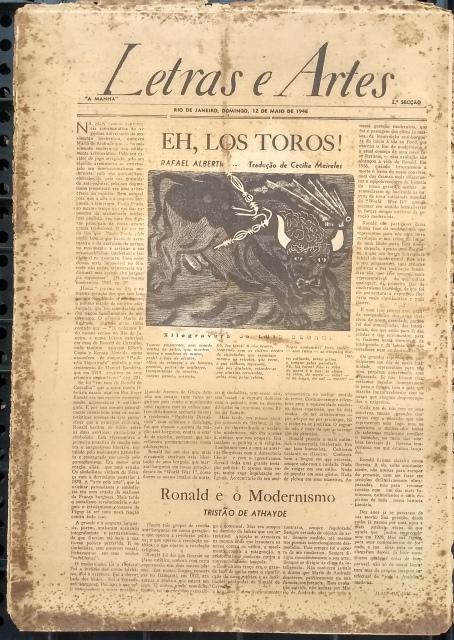 Livros, Jornais e Revistas Literárias em Leilão