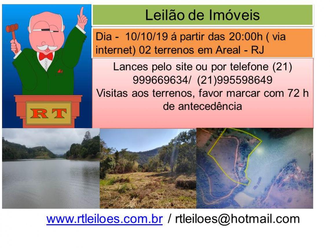LEILÃO DE IMÓVEIS