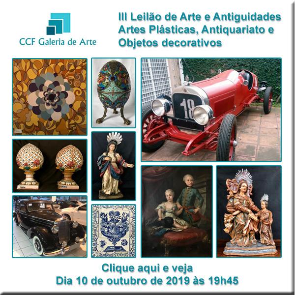 III Leilão CCF Galeria de Arte - 10/10/2019 - 19h45