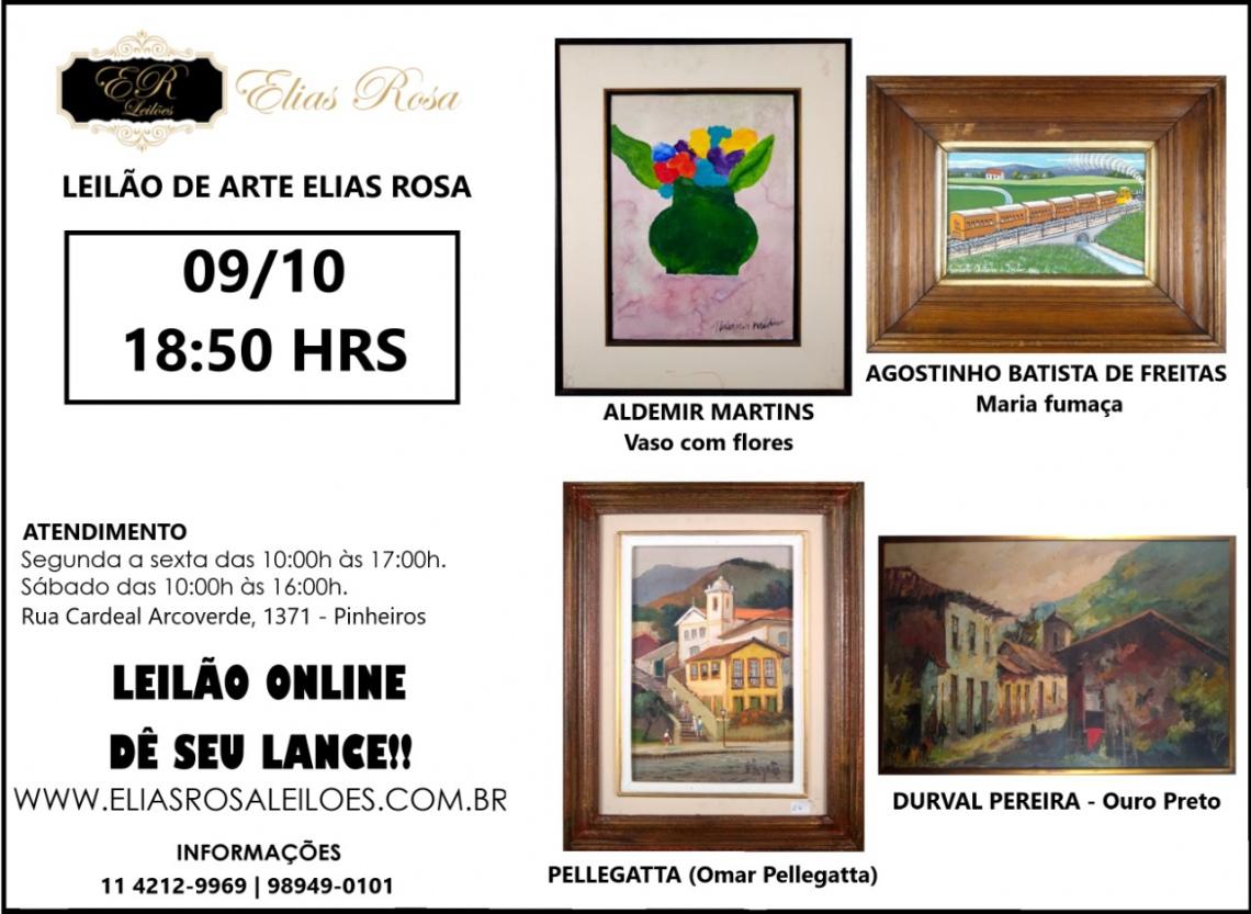 11º LEILÃO DE ARTE ELIAS ROSA