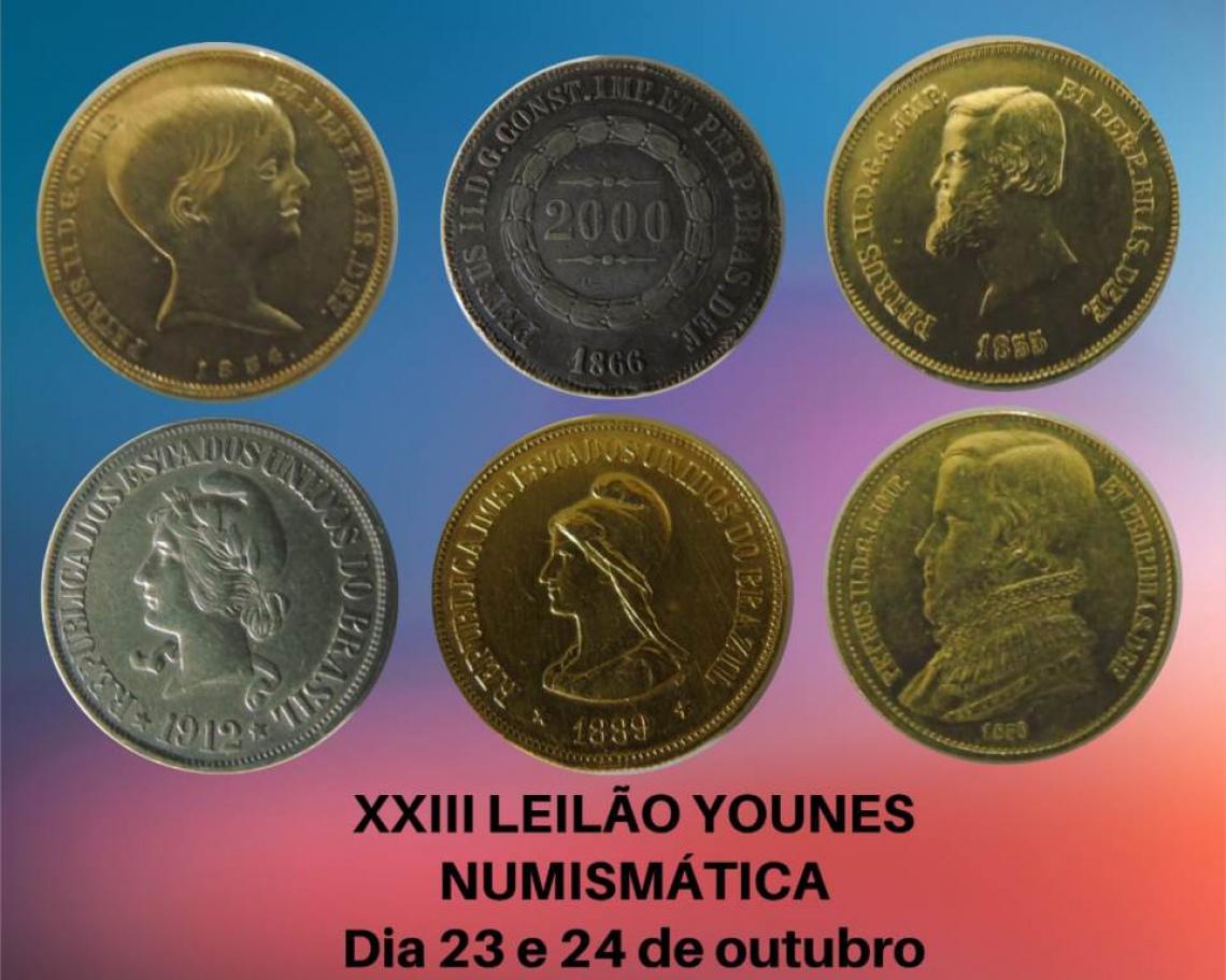 XXIII LEILÃO YOUNES NUMISMÁTICA
