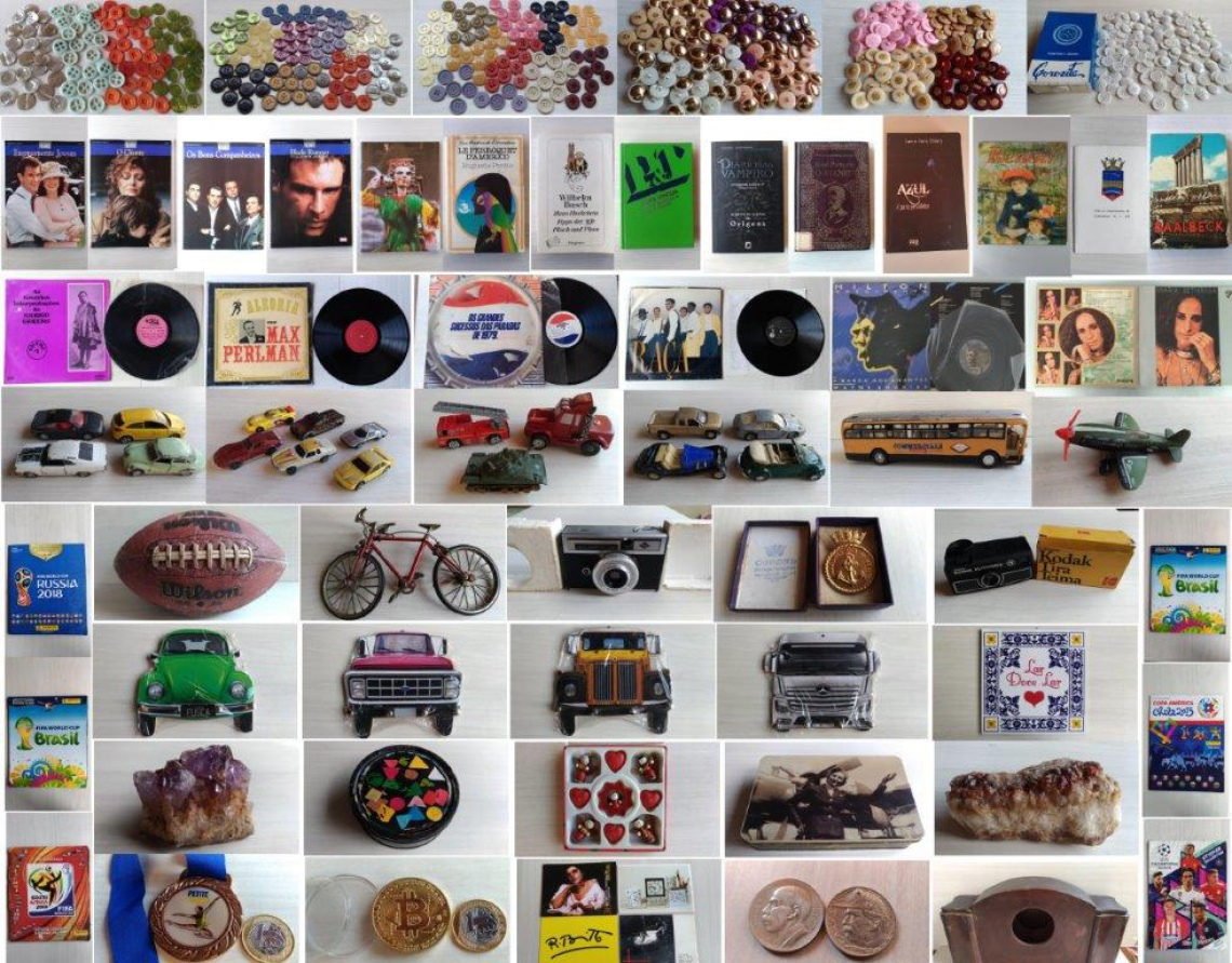 17º LEILÃO TUDO JUNTO E MISTURADO: LIVROS, CDs, LPs, DVDs, ANTIGUIDADES E CURIOSIDADES.