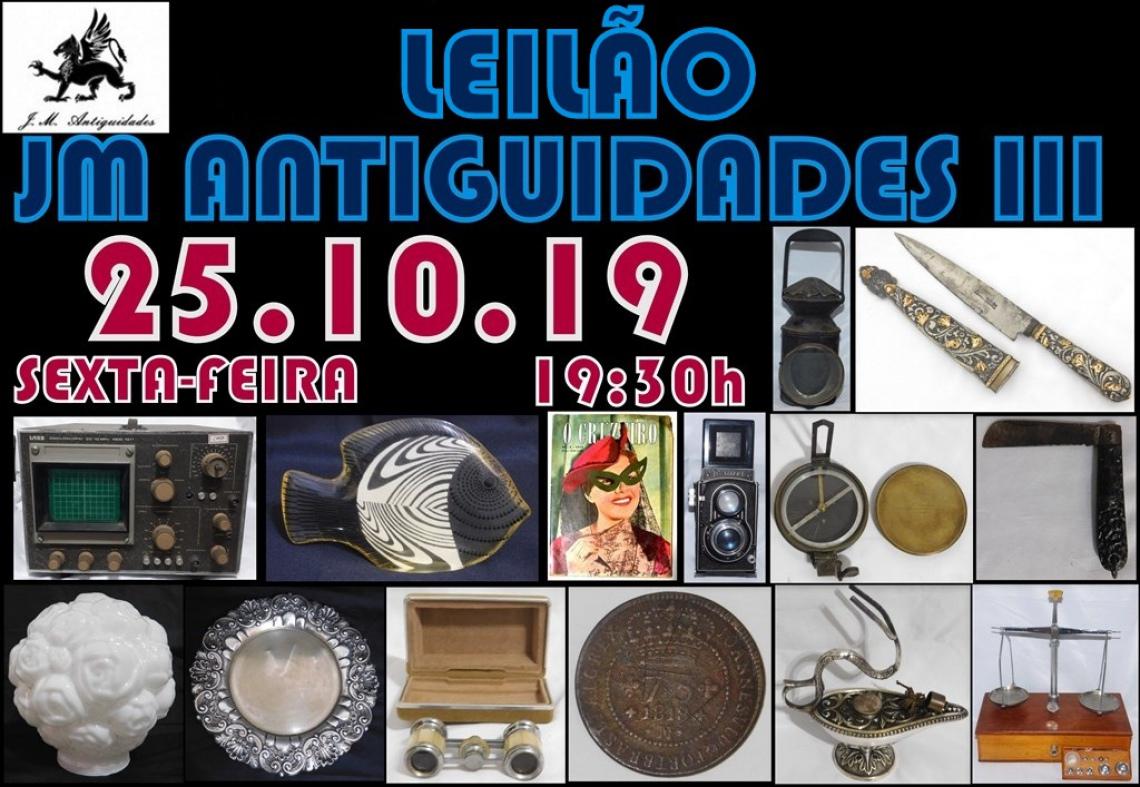 LEILÃO JM ANTIGUIDADES III