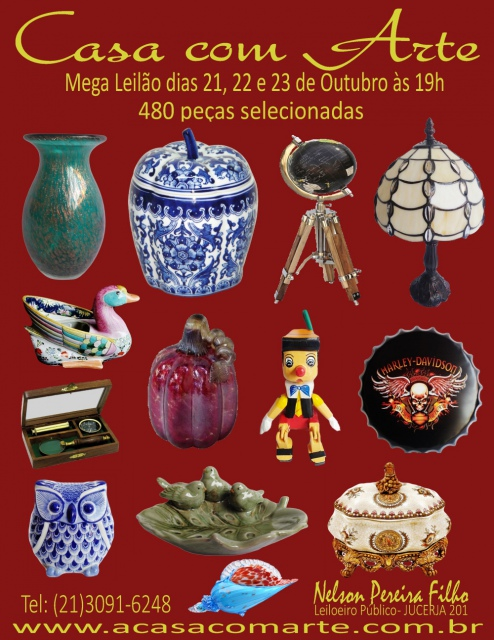 LEILÃO CASA COM ARTE - OUTUBRO 2019