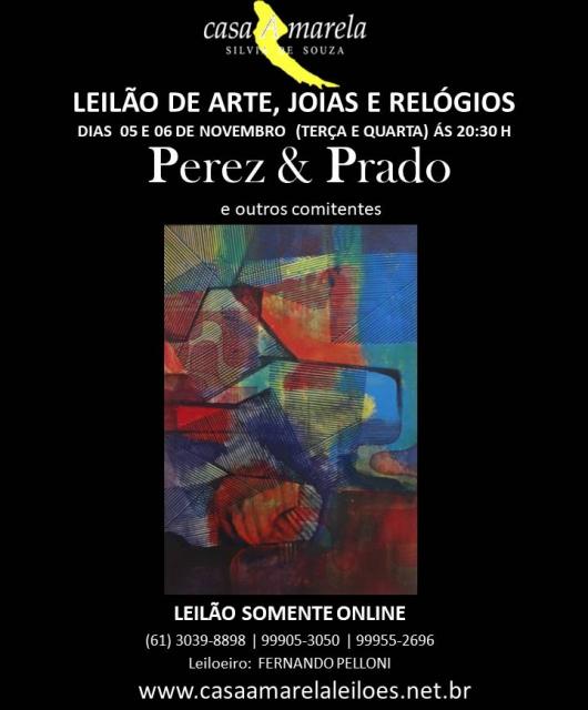 LEILÃO DE ARTE, JÓIAS, RELÓGIOS E ANTIGUIDADES