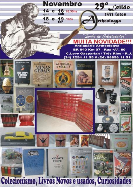 29º LEILÃO ARTHEOLOGYA - NOVEMBRO 2019